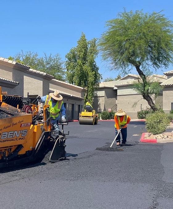 asphalt installation services