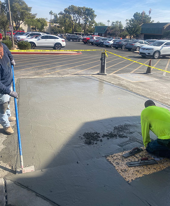 commercial concrete project in arizona