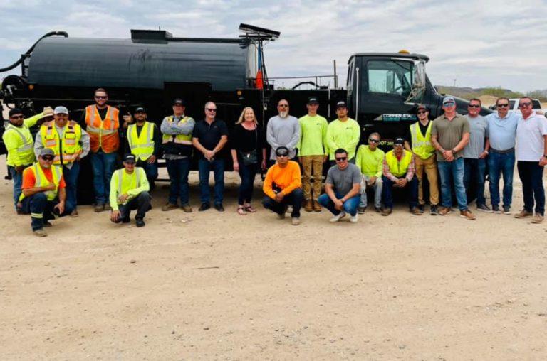 copper state pavement - team photo