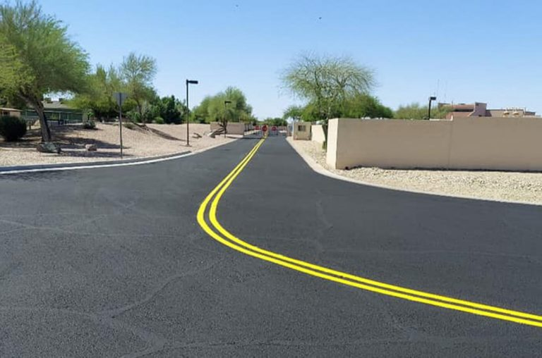 asphalt striping in chandler arizona