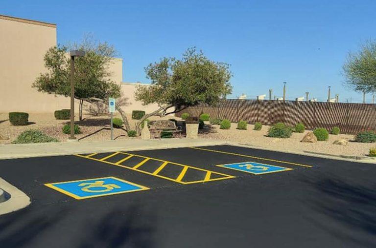 chandler arizona ada parking stalls