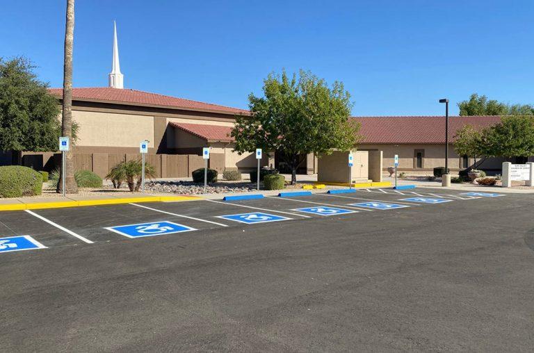 parking lot resurfacing in gilbert arizona