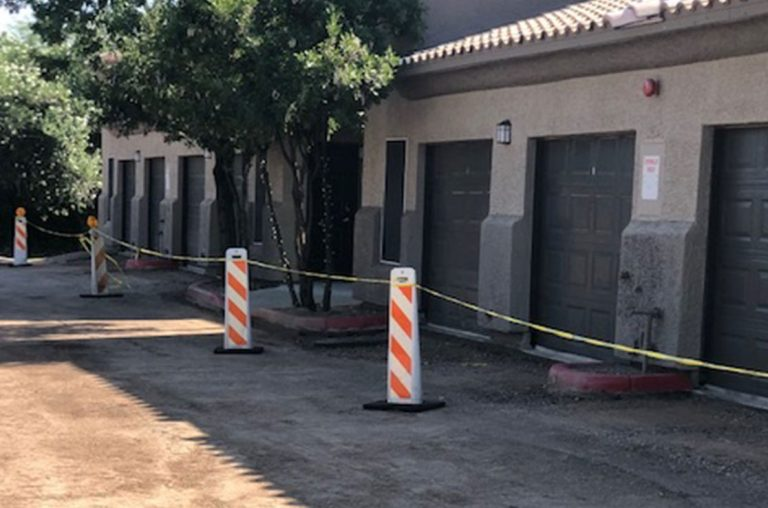 grading driveways for pheonix condo complex