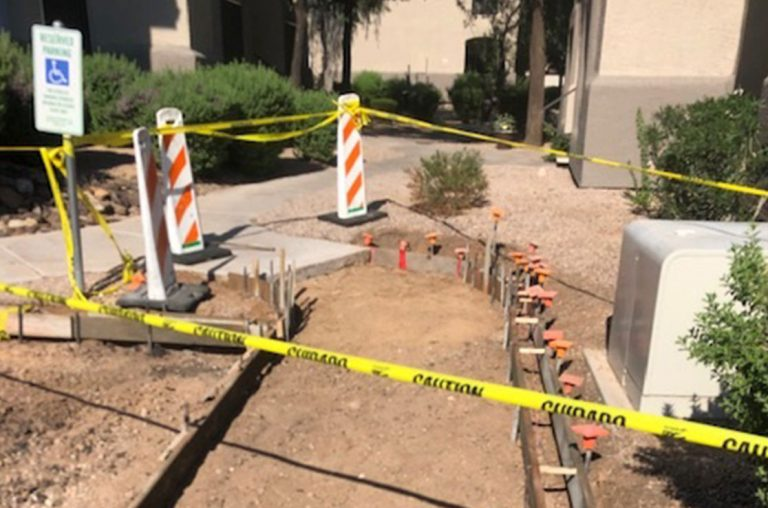 phoenix sidewalk grading and excavation